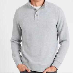 NWT Banana Republic Factory Mock-Neck Sweatshirt